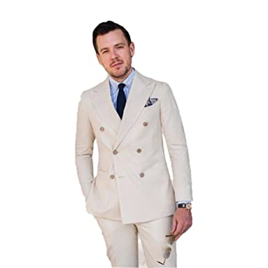 Leader of the Beauty - Chaqueta de Traje - para Hombre Beige ...