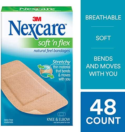 Bandages & Gauze: Nexcare Soft 'n Flex