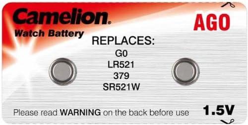 Camelion 2er Set Ag0 Lr521 Sr521w Knopfzelle 1 5v Elektronik