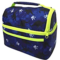 Lunch Box for Kids Teens Boys Girls | Insulated Lunch Bag | Bags for Kindergarten Pre-K High School Lunch-boxes Blue Pink Grey Dino BPA Free