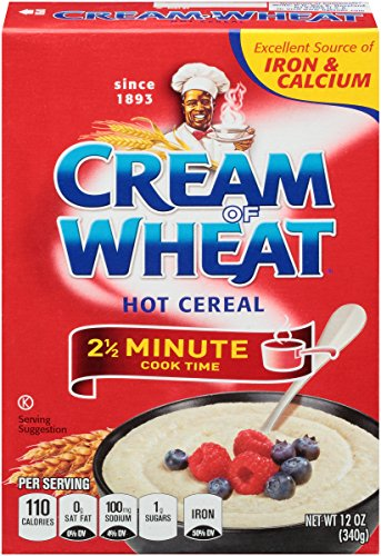 Cream of Wheat, Hot Cereal, Original, 12 Ounce (Pack of 12)