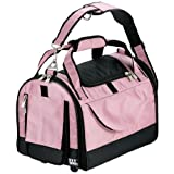 Pet Gear World Traveler with Wheels for Cats and Small Dogs, Pet Carrier, Large, Crystal Pink