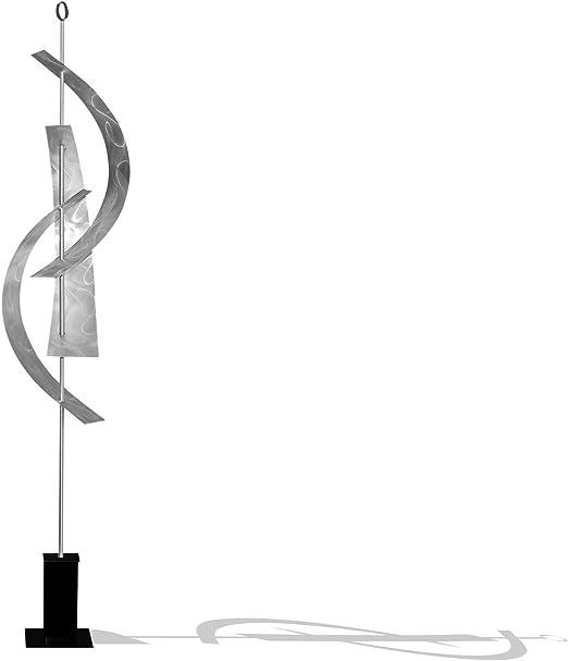 Statements2000 Metal Sculpture Modern Silver Outdoor Garden Yard Decor Jon Allen
