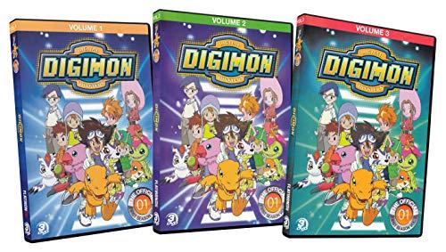 Digimon: Digital Monsters (Season 1 / Volume 1 - 3) (3-Pack) ()
