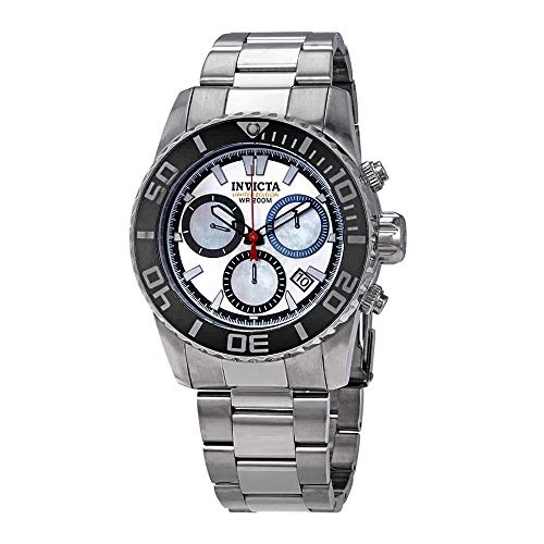 Invicta Silver/Platinum Dial Men's 200 Meters Limited Edition Stainless Steel Watch 20927 ()
