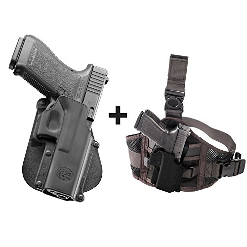 Fobus GL-3 Paddle Passive Retention Holster Glock 20, 21, 21SF, 37, 41, ISSC M22 + EXND Thigh Rig Platform - Fobus Gl3 Paddle Holster