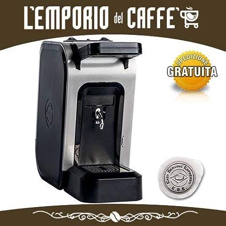 Spinel Ciao - Máquina de café con monodosis ESE, 44 mm, filtro de ...