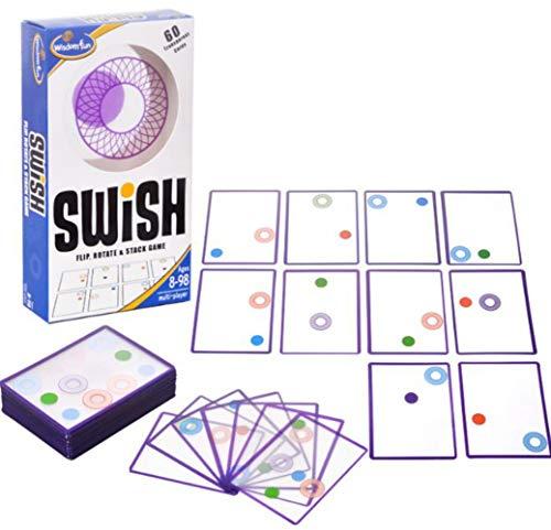 [ Alnair (アルナイル)] swish カードゲーム 子供 薄型 女の子 男の子 おもしろい カードパズル パズル 知能おもちゃ 頭の体操