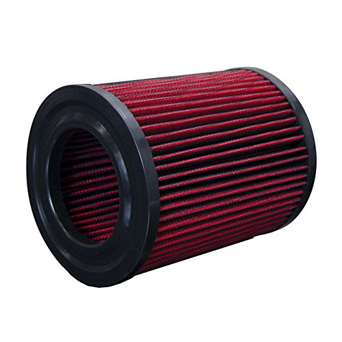 Upgr8 U8701-1306 Hd PRO OEM Replacement High Performance Dry Drop-in Air Filter (Red)