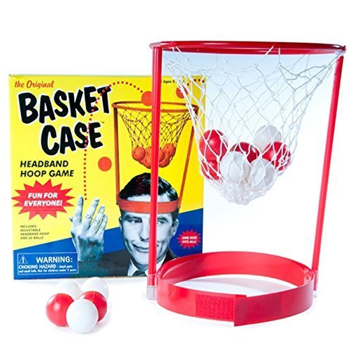 Funtime The Original Basket Case Headband Hoop Party Game Family Novelty Toy