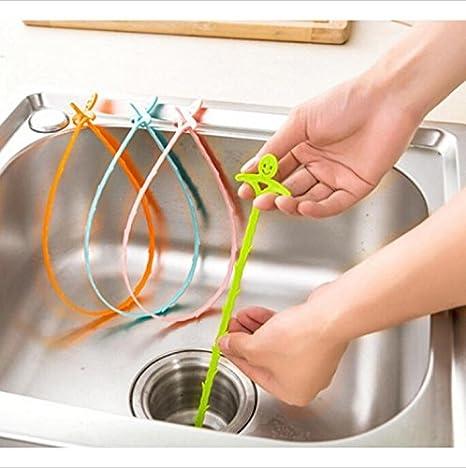 Dakaly - Dispositivo de limpieza para fregadero de baño: Amazon.es ...