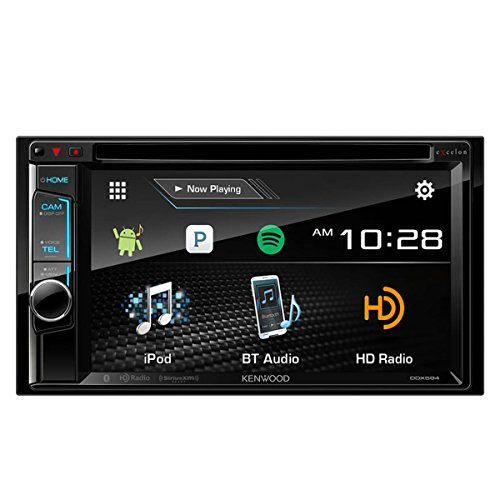 Kenwood eXcelon DDX594 6.2'' DVD Receiver with Bluetooth and HD Radio by Kenwood
