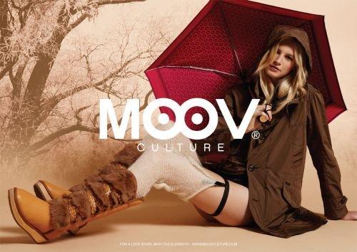 S Moov Culture Tan Bardot Femme Australia 38 Pour High Bottes Bateau Knee ZSw4xrqSE