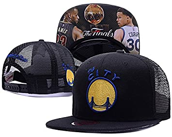 Golden State Warriors Nba Basic camiseta de la final vertical negro gorra  ajustable  Amazon.es  Deportes y aire libre 68a49dd459f