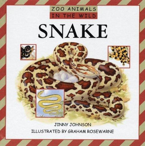 Read Online Snake (Zoo Animals in the Wild) pdf epub