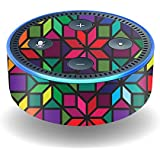 MightySkins Skin for Amazon Echo Dot (2nd Gen) - Stained Glass Window | Protective, Durable, and Unique Vinyl Decal wrap Cover | Easy to Apply, Remove, and Change Styles | Made in The USA