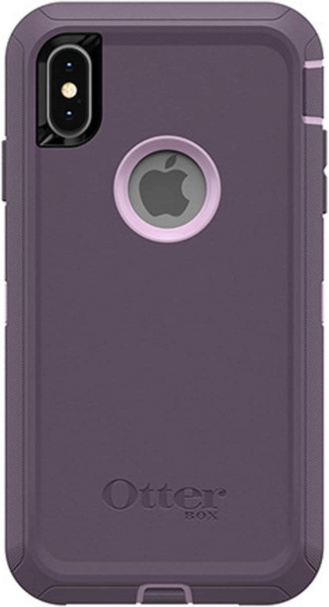 OtterBox Defender Series Case for iPhone Xs Max (ONLY), Case Only - Bulk Packaging - Purple Nebula