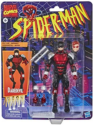 Hasbro- Marvel Legends Series (Action Figure 15 cm, Collezione Vintage di Spider-Man), E9317