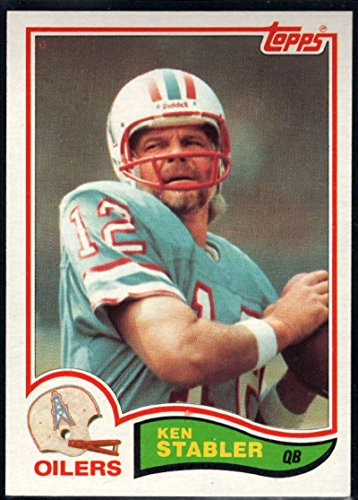 the best attitude b143c 70e04 Amazon.com: Football NFL 1982 Topps #105 Ken Stabler Oilers ...