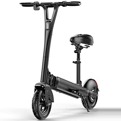 Lfnhai Scooter eléctrico para Adultos, Scooter Plegable de ...