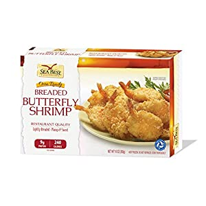 Sea Best 21/25 Butterfly Breaded Shrimp, 10 Ounce