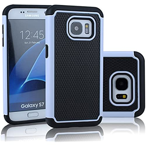Galaxy S7 Case, OEAGO Samsung Galaxy S7 Hard Case Hybrid Dual Layer Defender Protective Case Cover for Samsung Sales