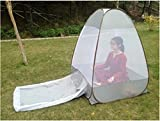Cheap Tip-top Store Free-Standing Pop-Up Mosquito-Net(Gray)