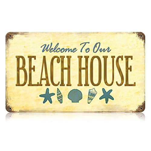 Amazon.com: Welcome to Our Beach House Sign: Home & Kitchen