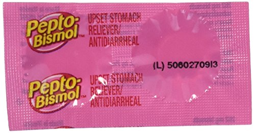 (Pepto-bismol Chewable Tablets, Original, (Box of 25 Packets of 2 Tablets))