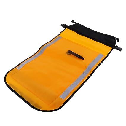 D DOLITY Flotador Bolsa para Paleta de Piragua Kayak Hecho de Material Tela TPU