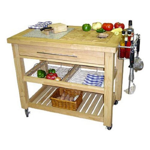 Cheap Chris & Chris Jet1223 Pro Chef Kitchen Work Station, 23 by 40 by 35-Inch