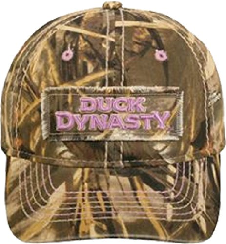 Duck Commander Duck Dynasty Ladies Realtree Max-4 Camo Unstructured Hat ()