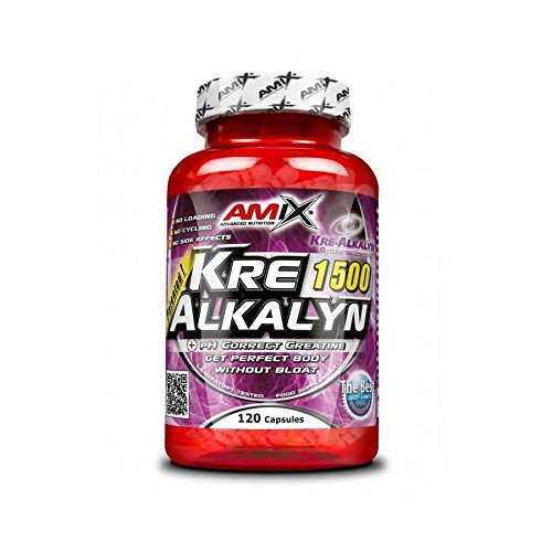 Amix 8594159531611, Kre-Alkalyn Creatina, 1500 mg: Amazon.es: Salud y cuidado personal
