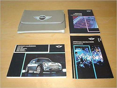 2003 mini cooper owners manual uk