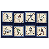 Amazon Com Vintage Baseball Players In Action Fabric By