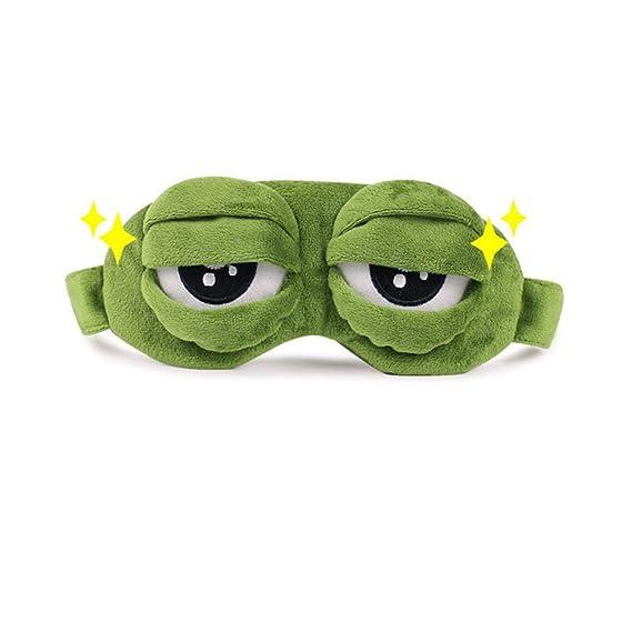 Amazon.com: AIkong - Máscara de peluche, diseño de rana ...