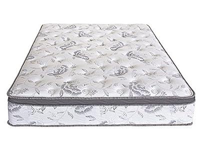 PrimaSleep 12 inch Multi-Layered Hybrid Euro Box Top Spring Mattress/Non Weaving/Innerspring (Queen)