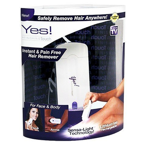 As Seen On TV YES! Instant Pain-free Finishing Touch Hair Remover