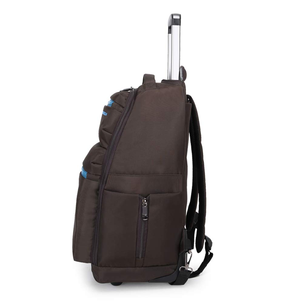 Great for High School Wheeled Laptop Backpack College Backpack Business Backpack Rolling School Bag