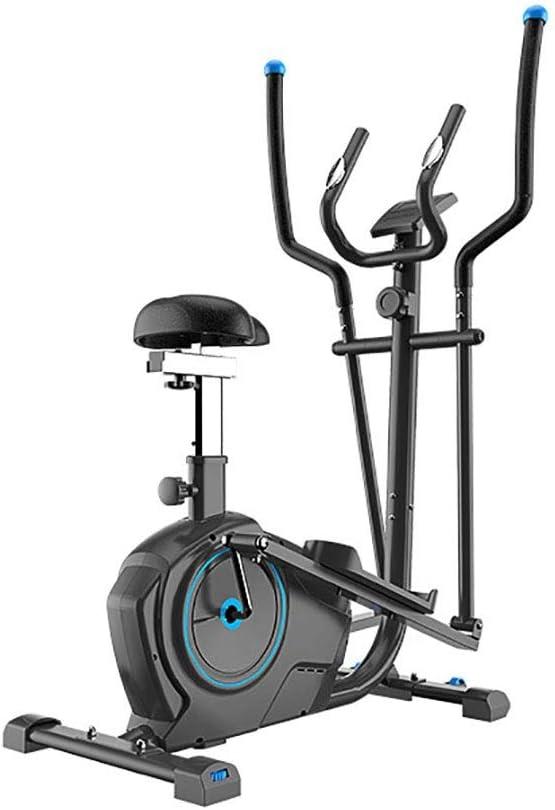 LiangDa Bicicleta De Ejercicios 2-en-1 Suave Movimiento Muscular Bicicleta Estática Estables Elípticas Cruz Preparación Física Ejercicio Aumenta para Ejercicios En Casa Y Cardio: Amazon.es: Hogar