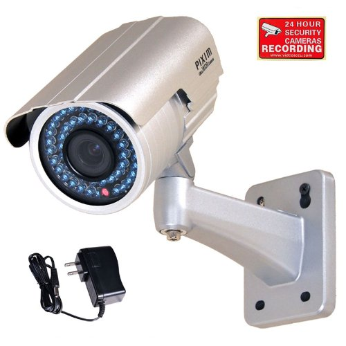 Wide Dynamic Pixim Range - VideoSecu WDR Day Night Outdoor IR Zoom Security Camera 1/3