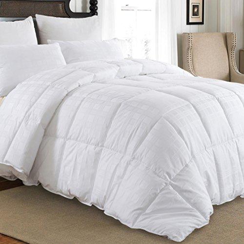 downluxe Luxury Down Comforter Queen - Baffle Box Down Duvet