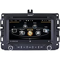 Rupse Android 4.4.4 Car DVD Player GPS Navigation Stereo with 7 inch HD For 2014 Dodge Ram1500 RAM2500