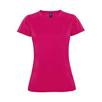 Roly Camiseta Montecarlo Mujer Fucsia Talla M: Amazon.es: Deportes y aire libre