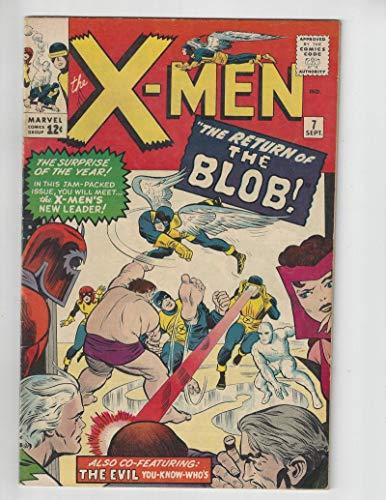 The X-Men #7/Silver Age Marvel Comic Book/Magneto,Quicksilver,Scarlet Witch/VF-