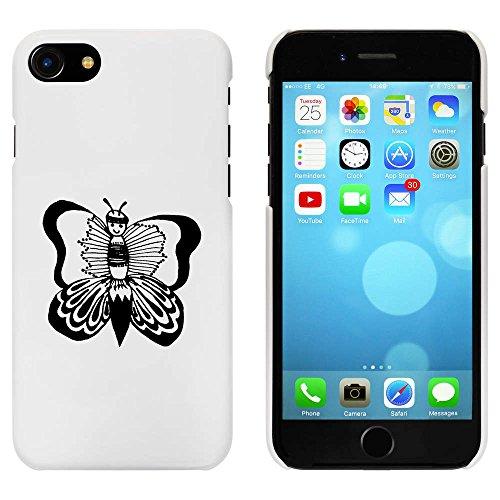 Blanc 'Papillon' étui / housse pour iPhone 7 (MC00065558)