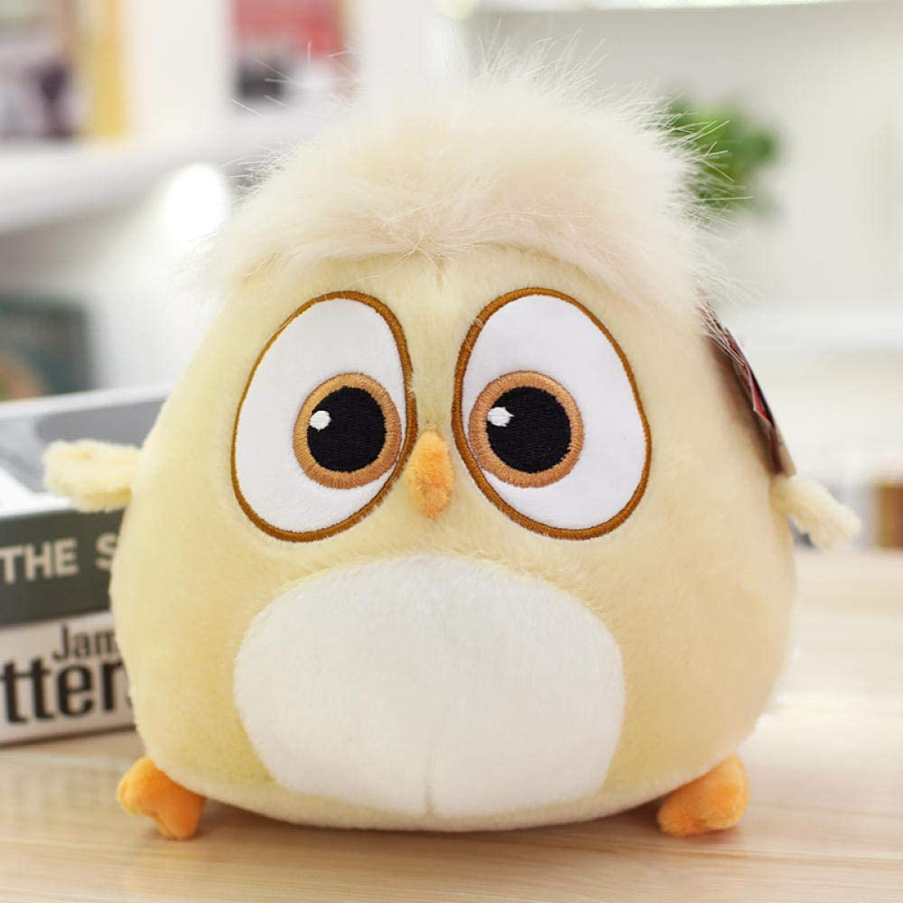 DONGER Angry Birds 2 Dolls Birthday Gift Little Bird Baby Doll Peluches-Light Yellow-Bird_18cm muñeca