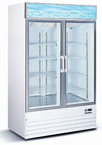 Commercial Restaurant Double Freezer Merchandiser product image
