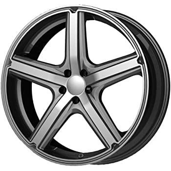 "American Racing Maverick AR8834 Anthracite Finish Wheel with Machined Face (17x7.5""/5x100mm)"