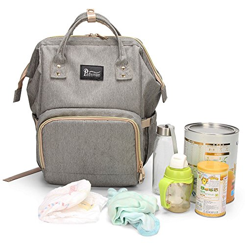 Large Capacity Diaper Bag Backpack Modoker Waterproof